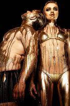 Brenda Seiner Dripping in gold
