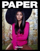 Tatiana Price Paper magazine shoot