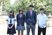 Ao Haru Ride Live Action cast