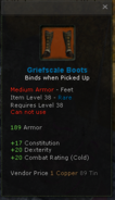 Griefscale boots
