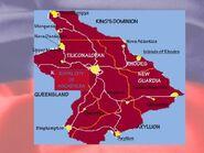 Ascadylea map