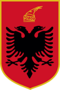 397px-Albania state emblem