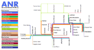 ANR Network Map