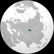 Altai location map