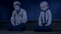 Ryuji and Konekomaru reciting.png