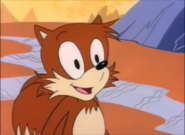 Aosth tails like his food chill-dogs