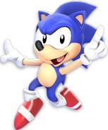 Sonic sonic satam render 3d