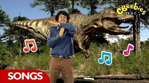 Tyrannosaurus Rex Rap From Andy's Dinosaur Adventures - CBeebies