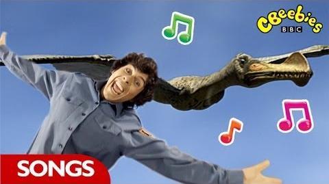 Ornithocheirus Rap From Andy's Dinosaur Adventures - CBeebies