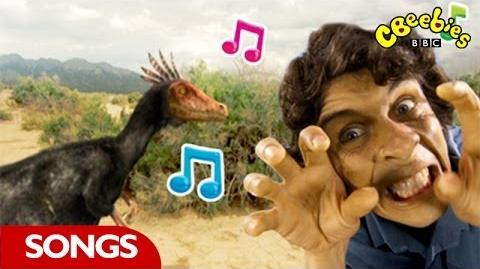 Velociraptor Rap From Andy's Dinosaur Adventures - CBeebies