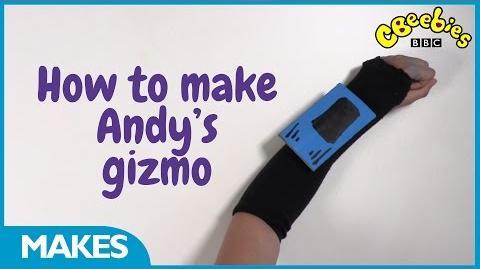 CBeebies Andy's Prehistoric Adventures - Make Andy's Gizmo