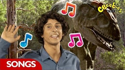 Allosaurus Rap From Andy's Dinosaur Adventures - CBeebies