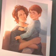 Horizon and her son