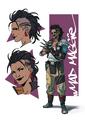 ConceptArt Valeria Favoccia Maggie Armageddon Character Sheet.png