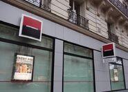 Societe generale banque detail agence paris photo rk