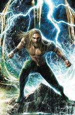 Arthur Curry in Aquaman Vol 8 58 Textless Variant