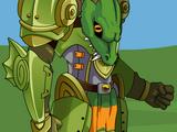Frogzard Knight Armor