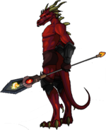 Fire Drakel Warrior