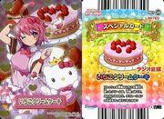 Apron of Magic Heart Card Strawberry Cream Cake Premium