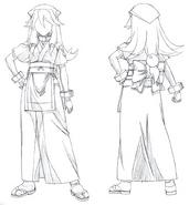 Akane Cafe Uniform Concept