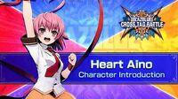 BlazBlue Cross Tag Battle - Heart Aino Introduction