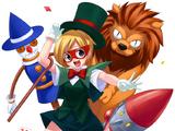 Lion, Tin Man & Scarecrow