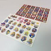 Arcana Heart 3 Stick Stickers