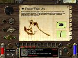 Feather-Weight Axe