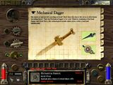 Mechanical Dagger