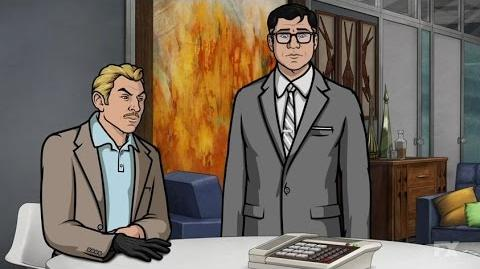 The Best Voicemail Ever Season 7 Episode 2 Scene Archer