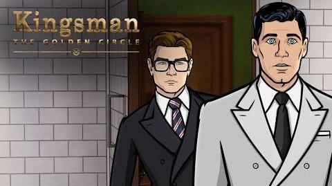 TBT: That Time Archer Met Kingsman