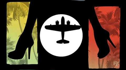 Archer Danger Island (season 9) intro