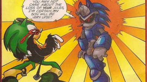 Sonic the Hedgehog 192 Comic Drama - Father and Son