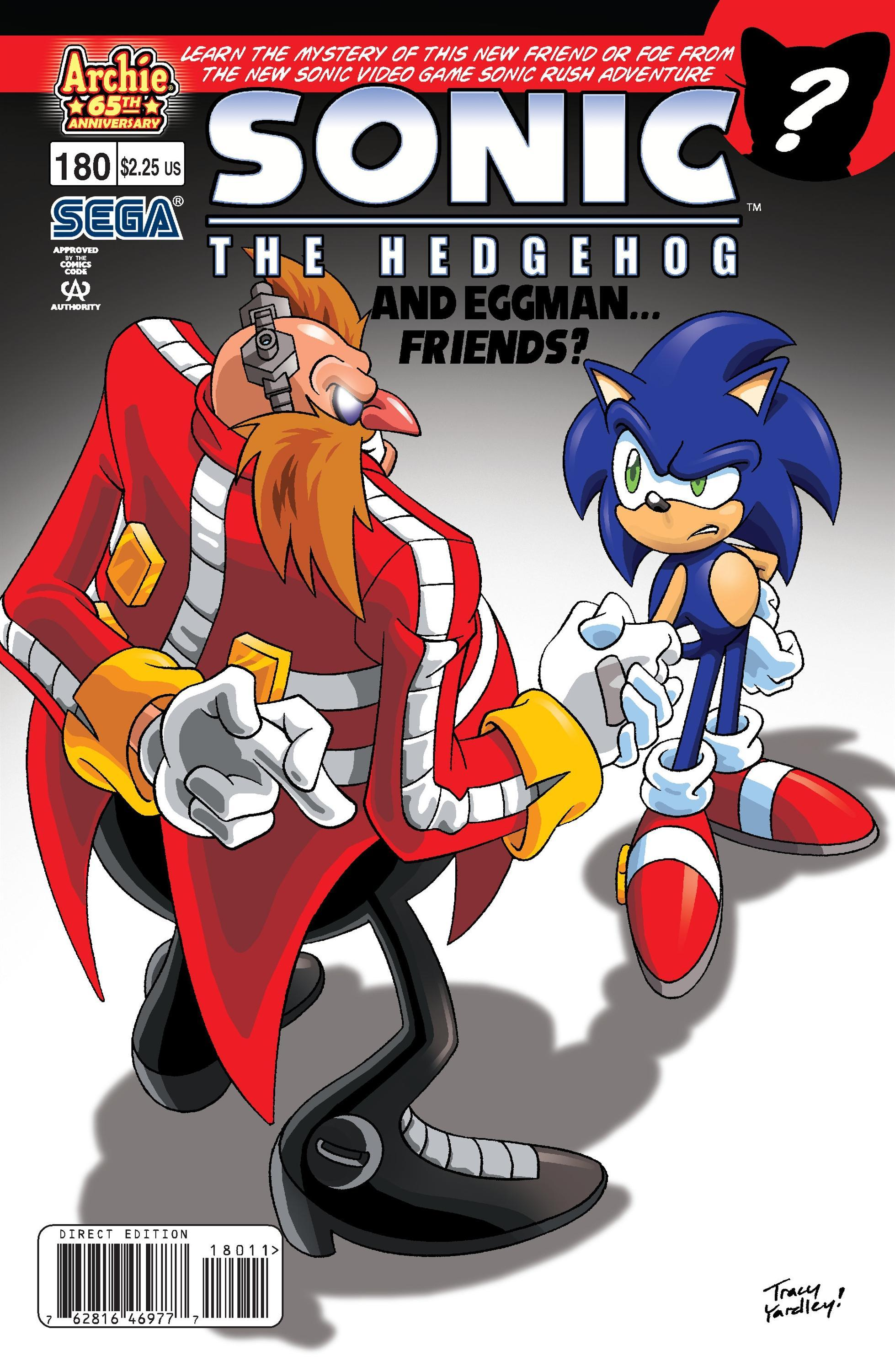Archie Sonic the Hedgehog Issue 180
