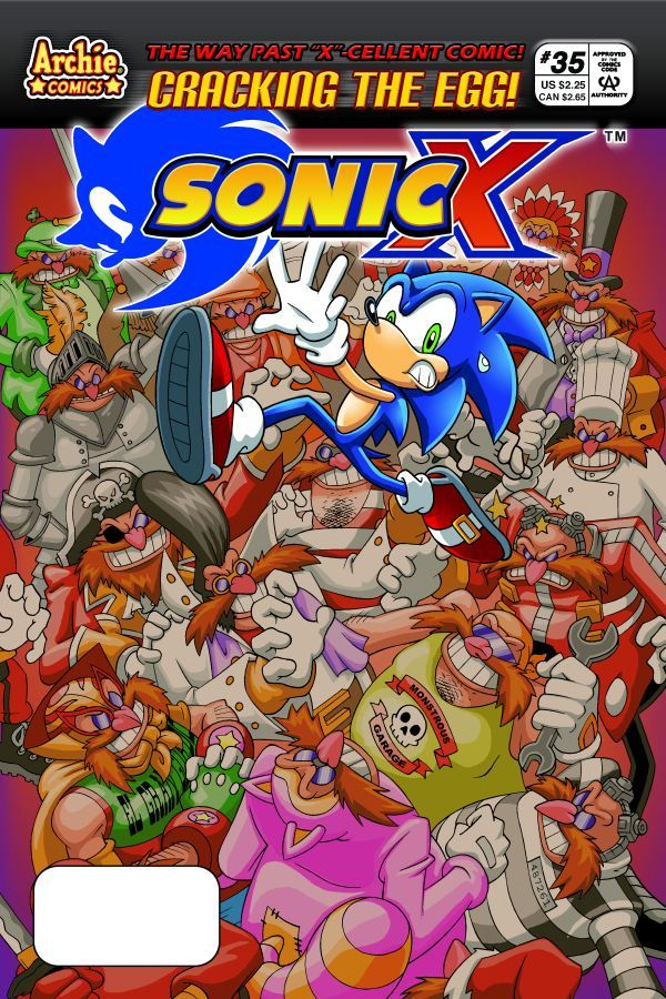 Archie Sonic X Issue 35