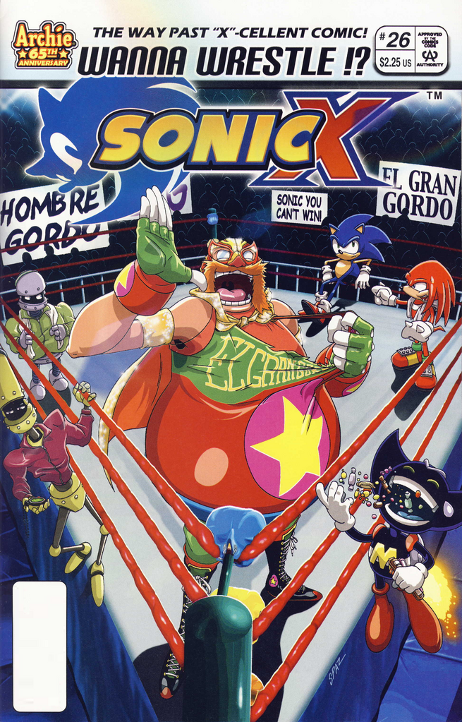 Archie Sonic X Issue 26