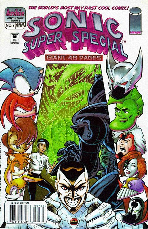 Archie Sonic Super Special Issue 7