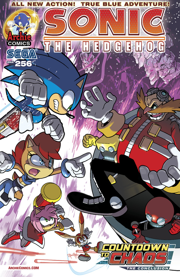 Archie Sonic the Hedgehog Issue 256