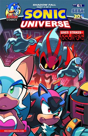 Archie Sonic Universe Issue 61