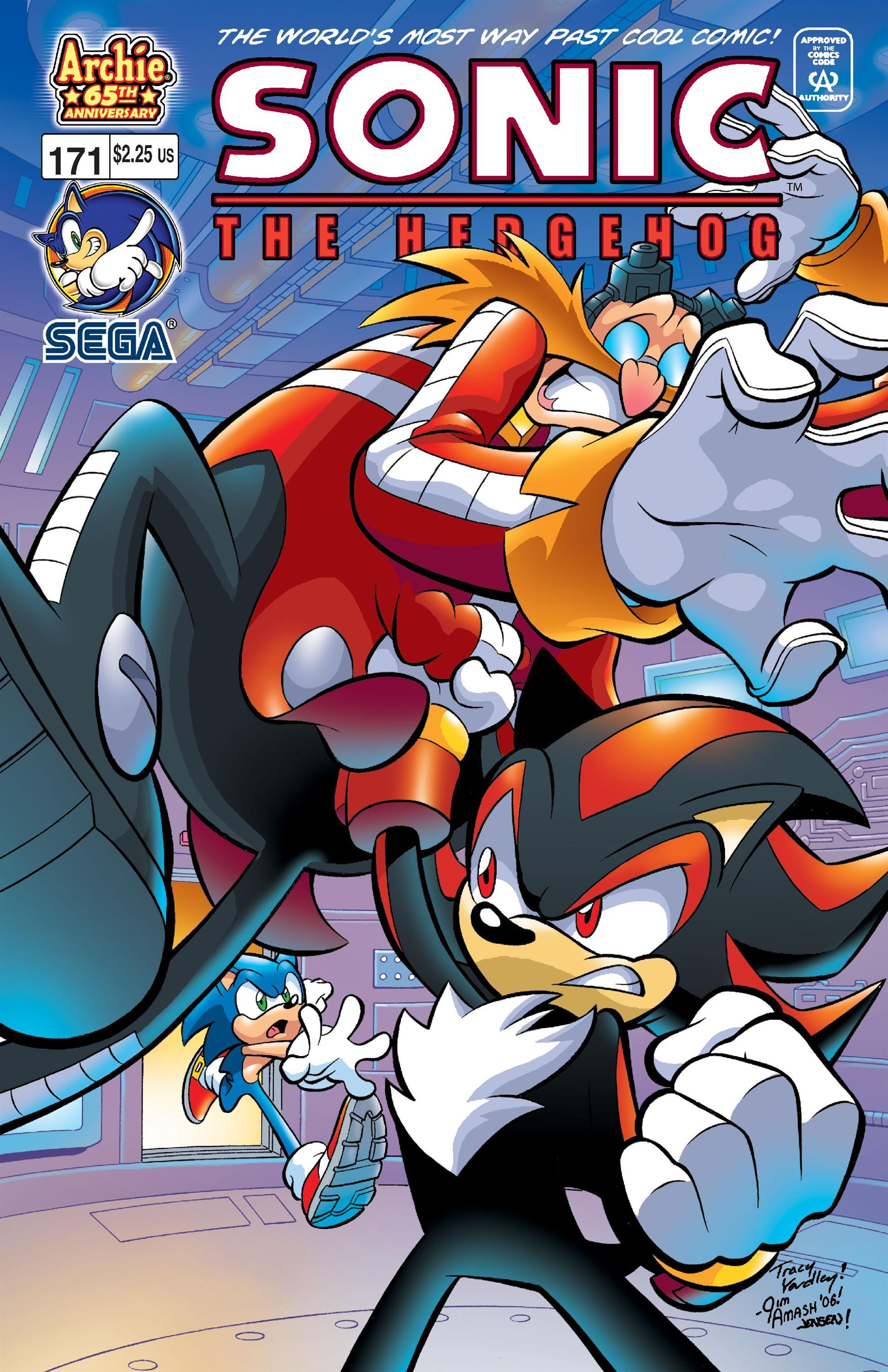 Archie Sonic the Hedgehog Issue 171