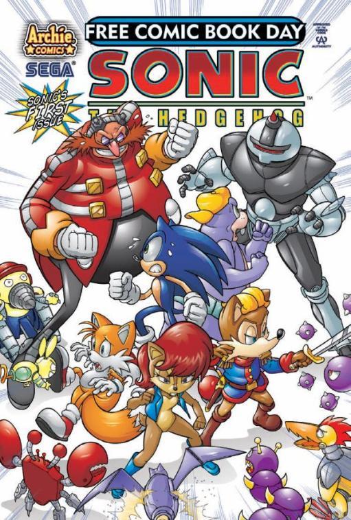 Sonic Free Comic Book Day 2008