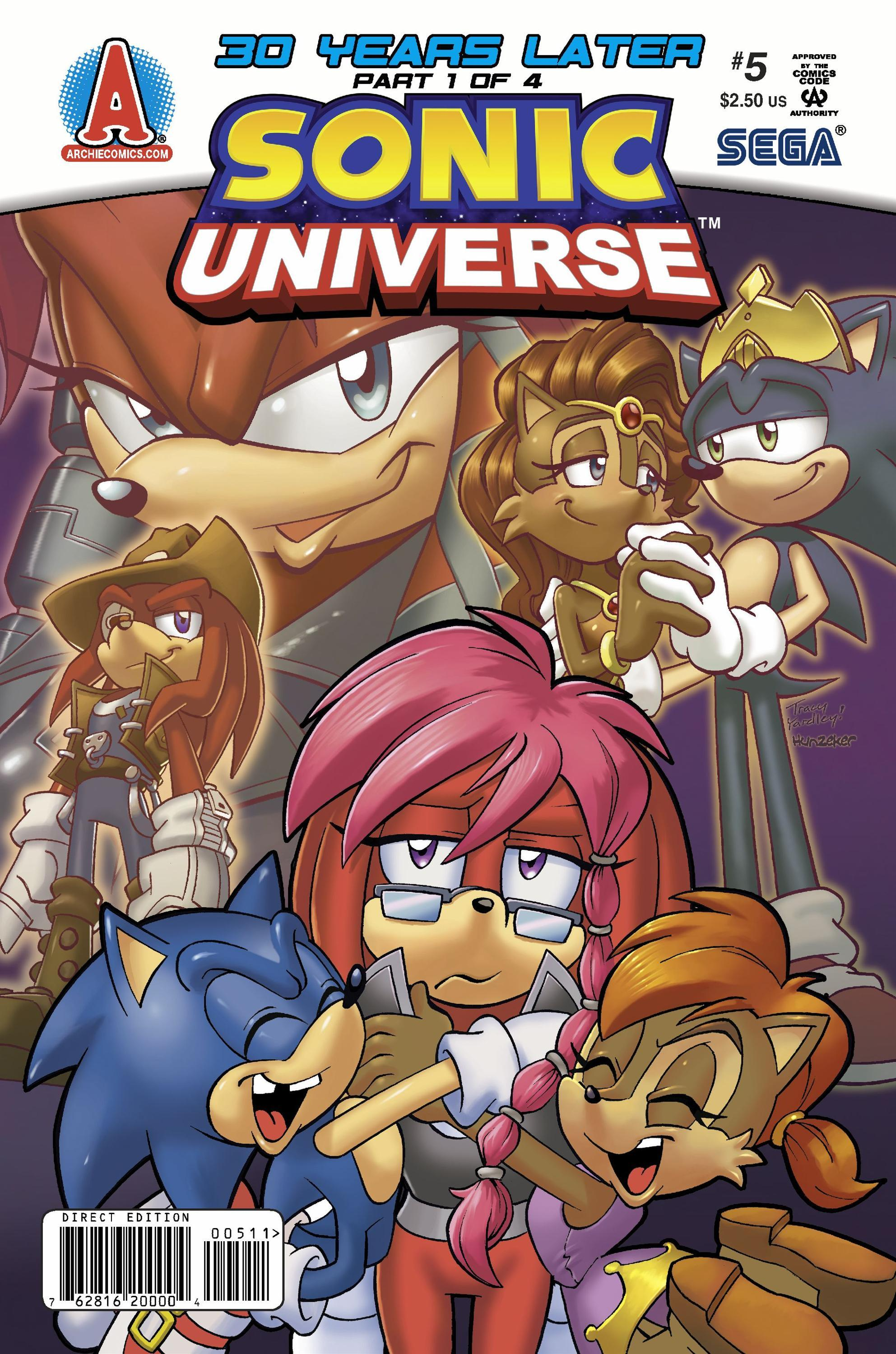 Archie Sonic Universe Issue 5