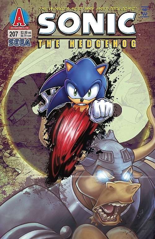 Archie Sonic the Hedgehog Issue 207