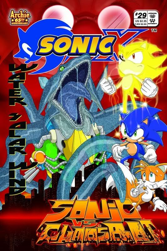 Archie Sonic X Issue 29