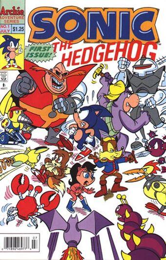 Archie Sonic The Hedgehog Mobius Encyclopaedia Fandom