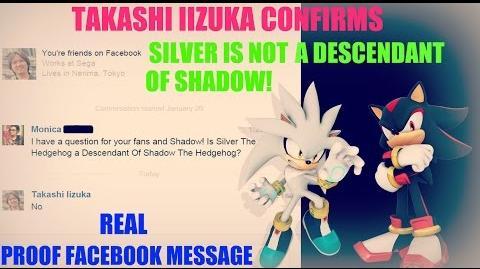 TAKASHI IIZUKA CONFIRMS THAT SILVER THE HEDGEHOG IS NOT A DESCENDANT OF SHADOW THE HEDGEHOG!-3