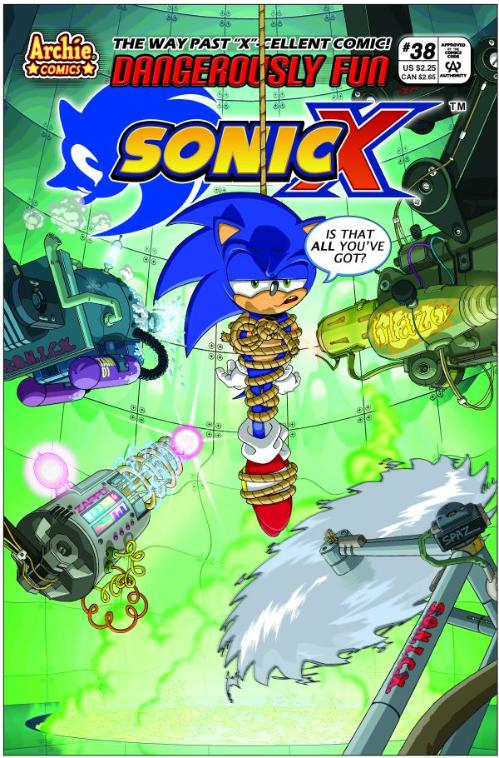 Archie Sonic X Issue 38