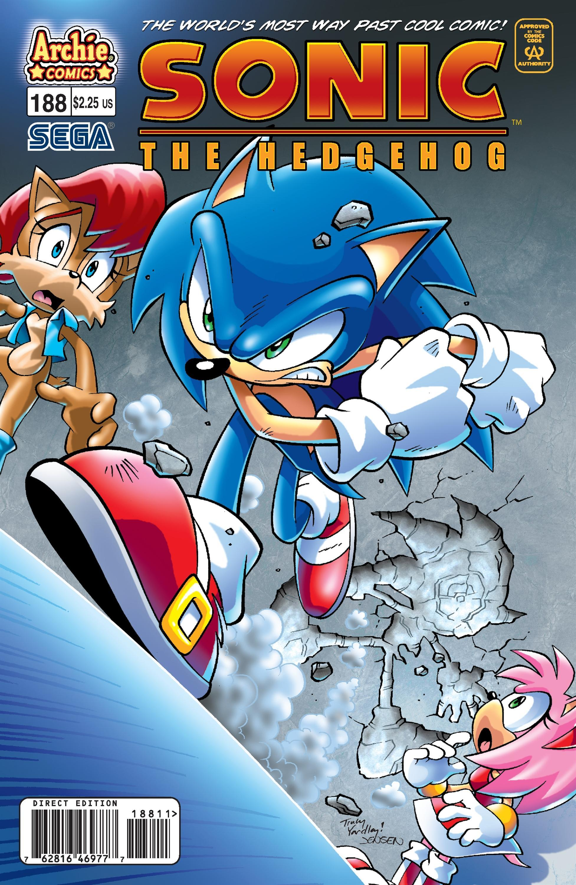Archie Sonic the Hedgehog Issue 188