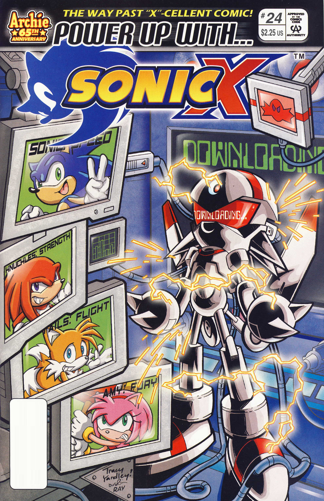 Archie Sonic X Issue 24