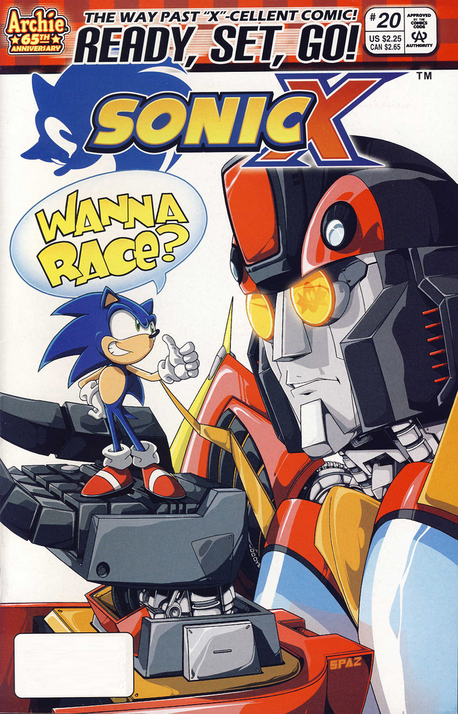 Archie Sonic X Issue 20